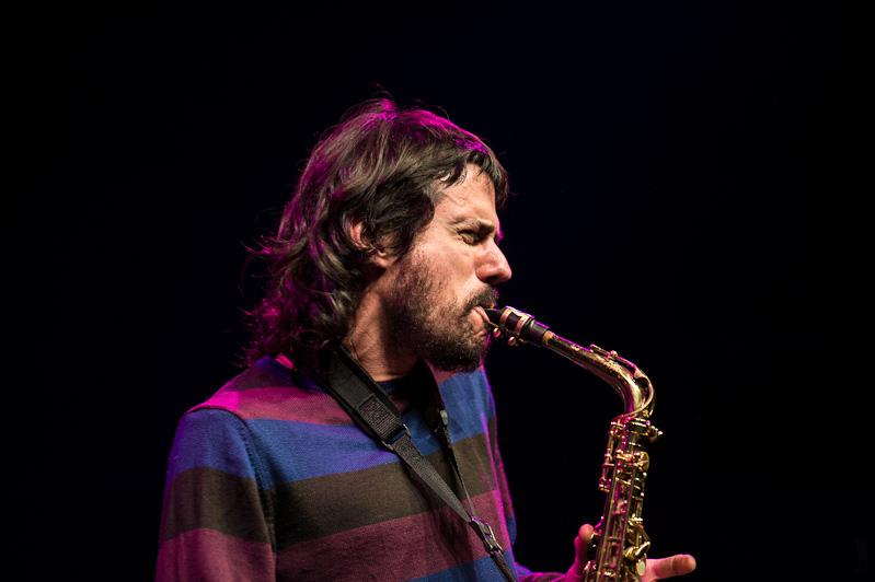 Filthy Habits Ensemble - Guillermo Calliero (tp), Tom Chant (sax